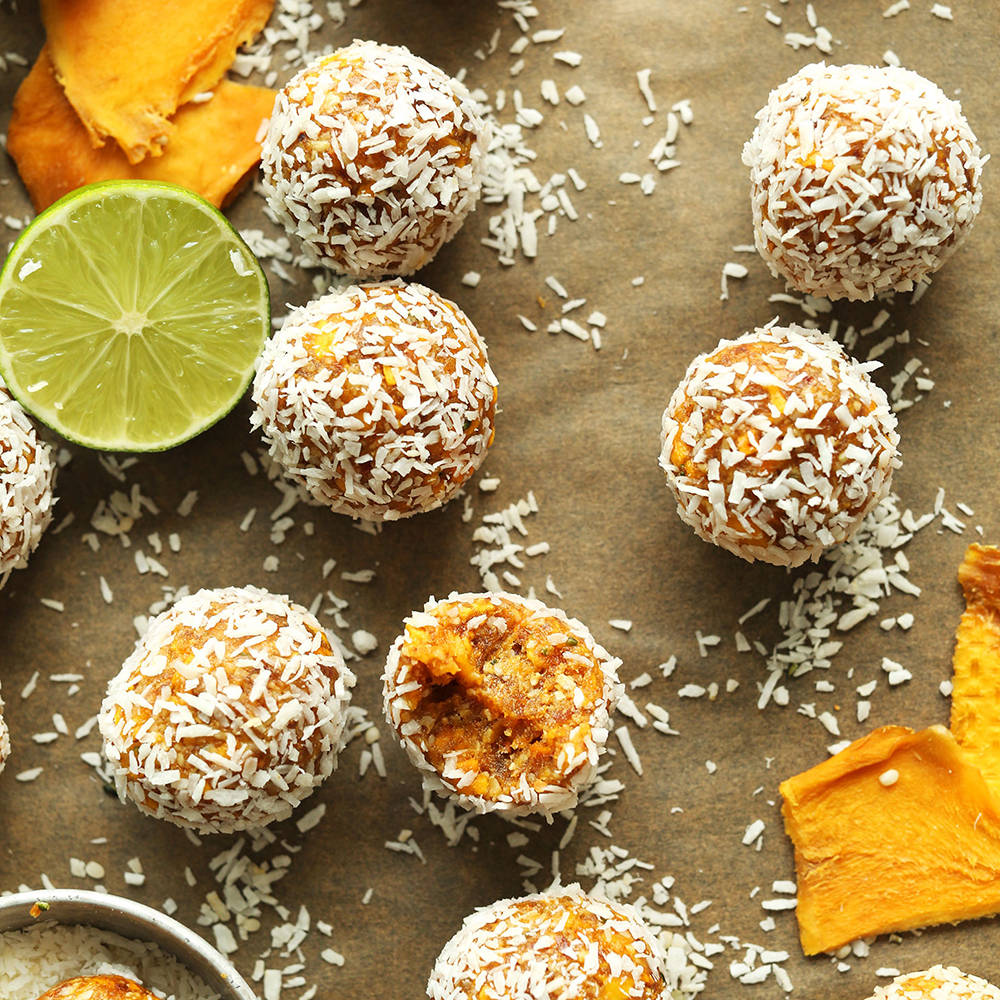 mango energy balls