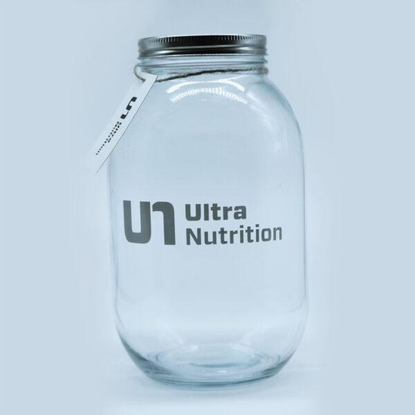 Ultra Nutrition Glass Jar